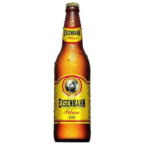Cerveja Puro Malte 600ml Eisenbahn garrafa não retornável UN
