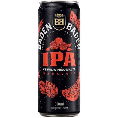 Cerveja Puro Malte Ipa 350ml Baden Baden lata UN