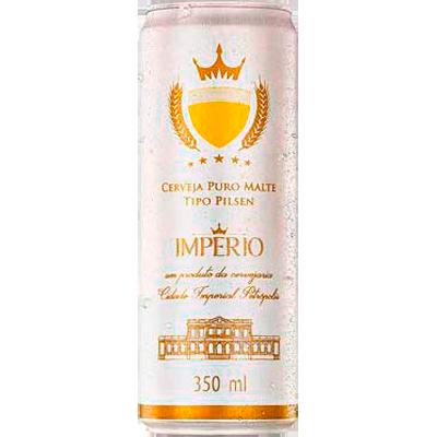 Cerveja Puro Malte 350ml Império lata LT
