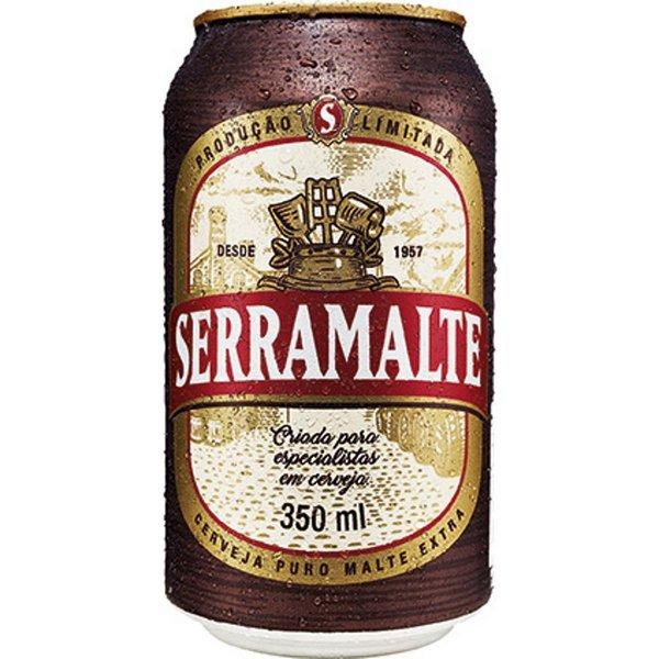 Cerveja Puro Malte 350ml Serramalte lata UN