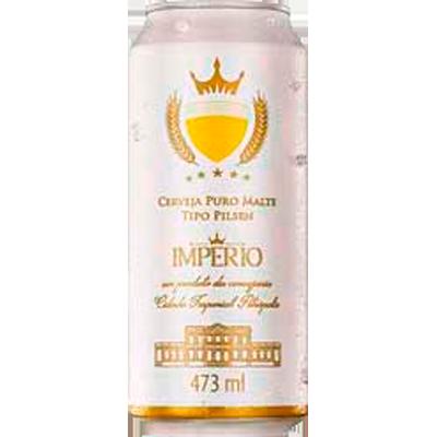 Cerveja Puro Malte 473ml Império lata UN