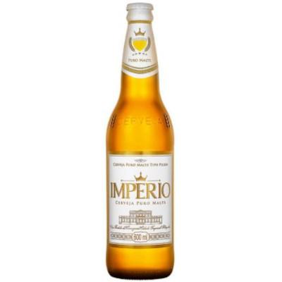 Cerveja Puro Malte Pilsen 600ml Império garrafa não retornável UN