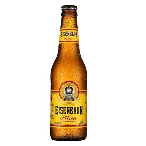 Cerveja Puro Malte (venc. 30/09) 355ml Eisenbahn long neck UN