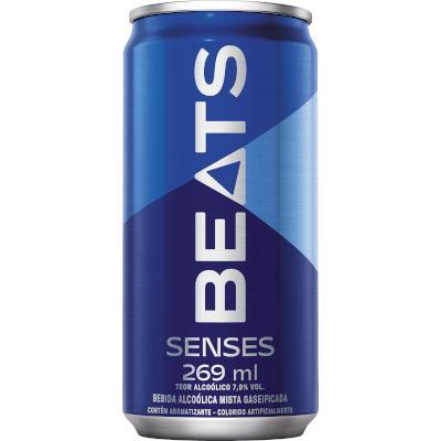 Cerveja Senses 269ml Skol Beats lata UN