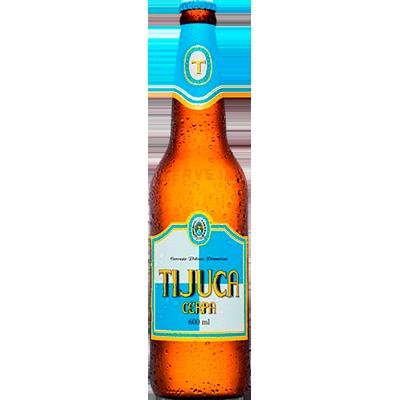 Cerveja Tijuca 600ml Cerpa garrafa não retornável UN