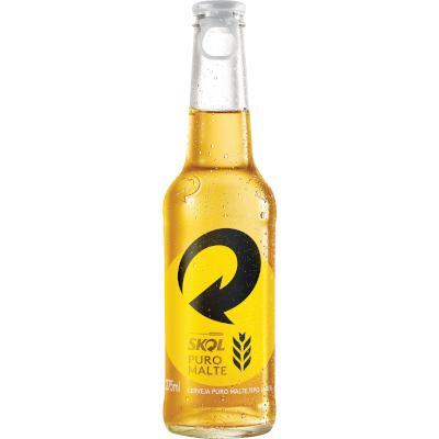 Cerveja Ultra Puro Malte 275ml Skol long neck UN