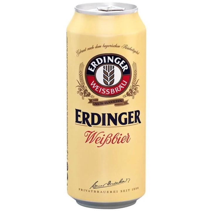 Cerveja Weibbier 500ml Erdinger lata UN