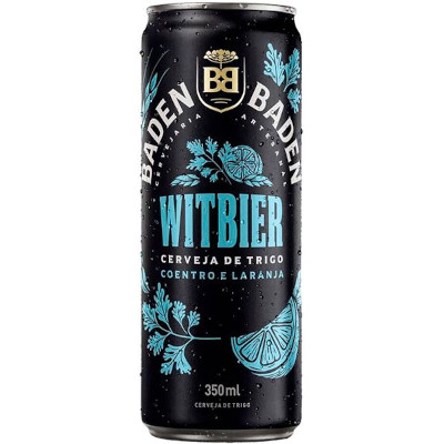 Cerveja Wit Bier 350ml Baden Baden lata UN