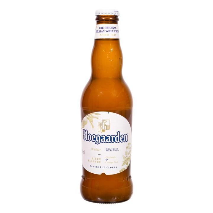 Cerveja Witbier 330ml Hoegaarden long neck UN