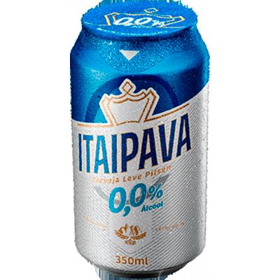 Cerveja Zero álcool 350ml Itaipava lata UN