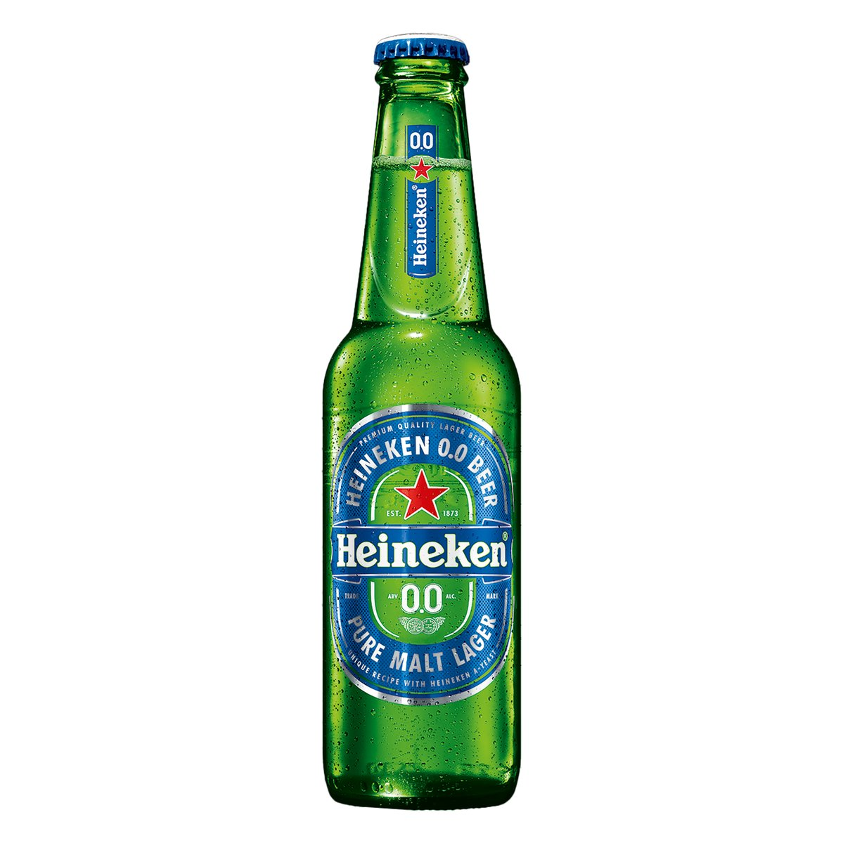Cerveja Zero Álcool 330ml Heineken long neck UN