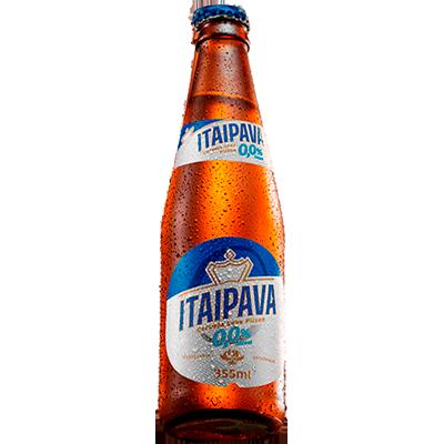 Cerveja Zero álcool 355ml Itaipava long neck UN