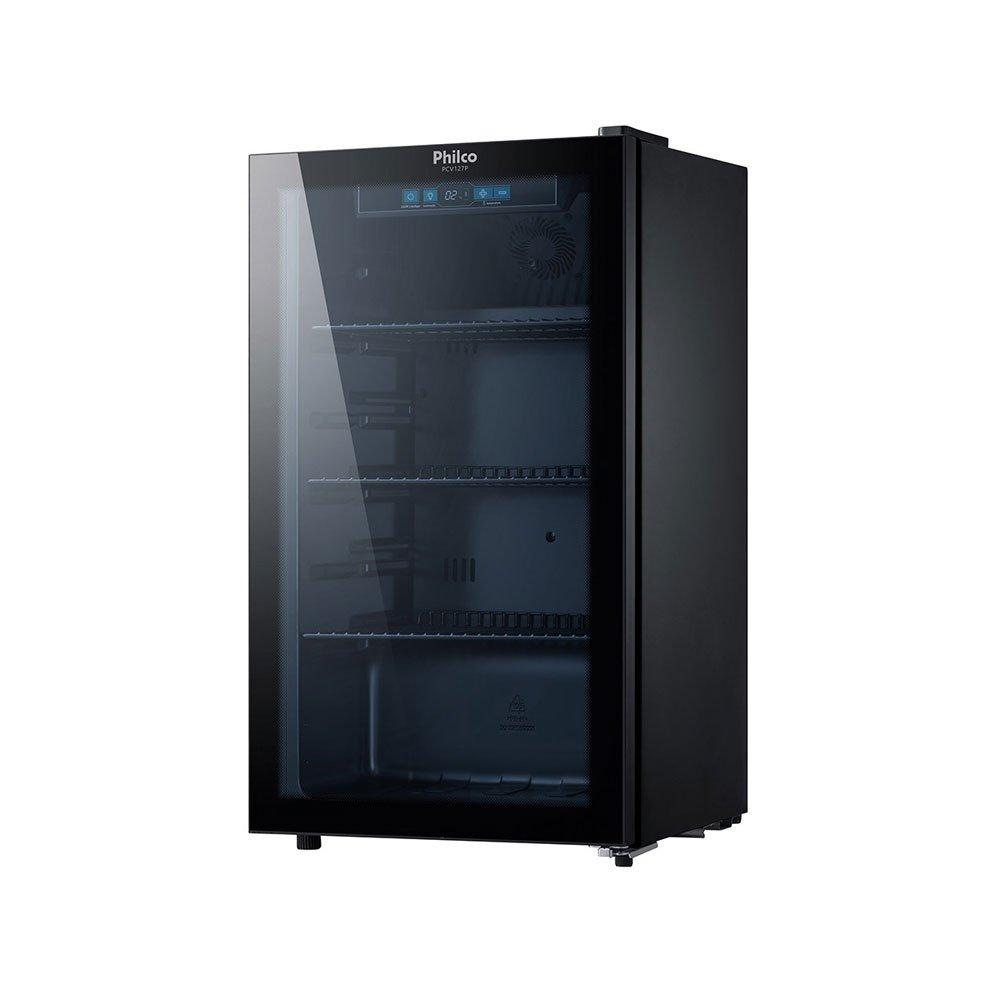 Cervejeira 1 Porta Degelo Automático Preta 110v 96 Litros Philco  UN