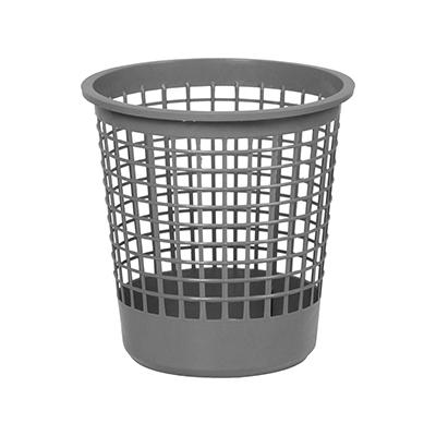 Cesto de lixo plástico telado capacidade 12 litros unidade Caue  UN