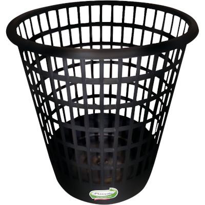 Cesto de lixo Plástico Telado Capacidade 9 Litros unidade Plasvale  UN