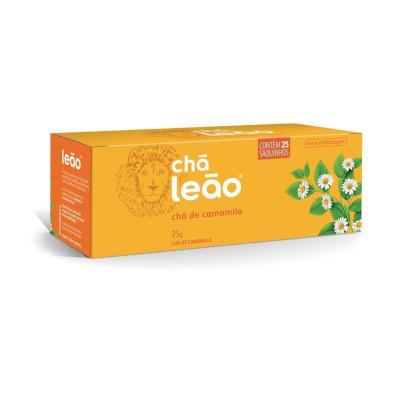 Chá de Camomila 25g (25 sachês) Leão caixa CX