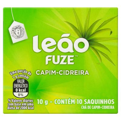 Chá de Capim Cidreira 10g Leão caixa CX