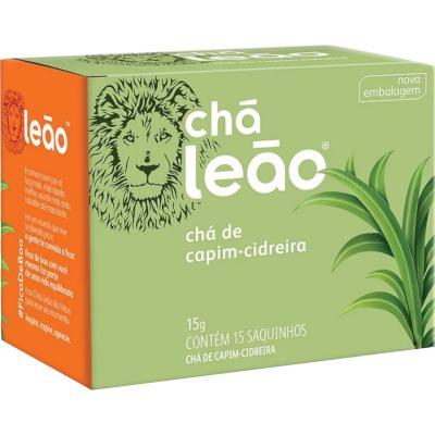 Chá de Capim Cidreira 15g Leão caixa CX