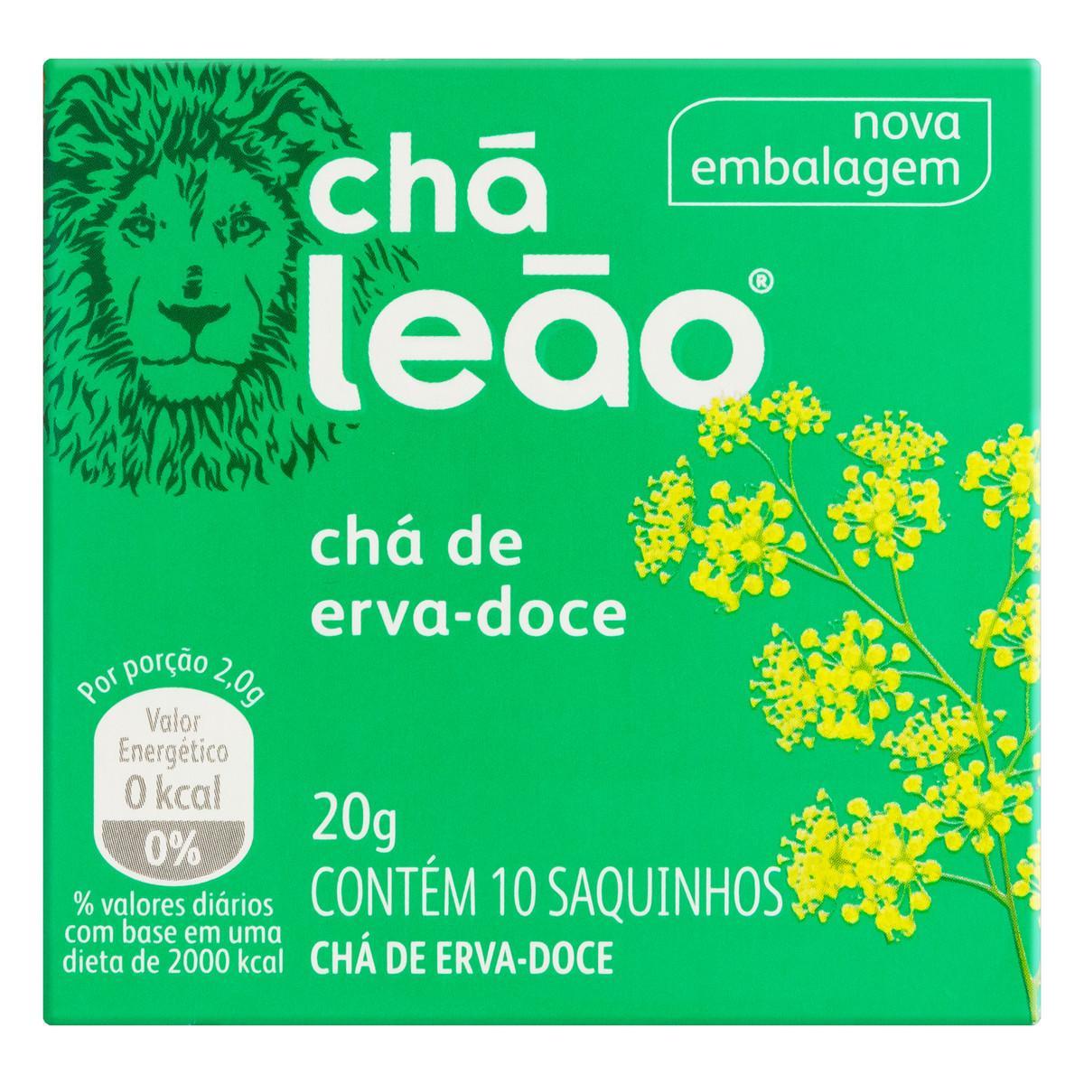 Chá de Erva Doce 20g Leão caixa CX