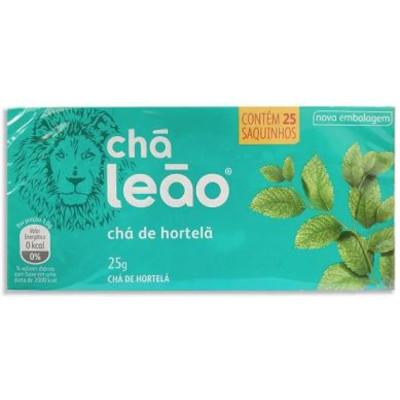 Chá de Hortelã 25g (25 sachê) Leão caixa CX