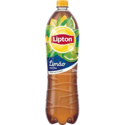 Chá de limão Ice Tea zero açúcar 1,5Litros Lipton pet UN