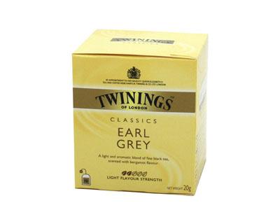 Chá  20g Twinings/Earl Grey caixa CX