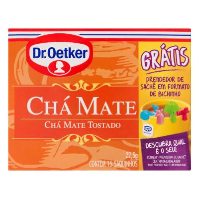 Chá Mate 22,5g Dr. Oetker caixa CX