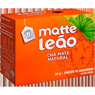 Chá Natural 24g Leão/Matte caixa CX
