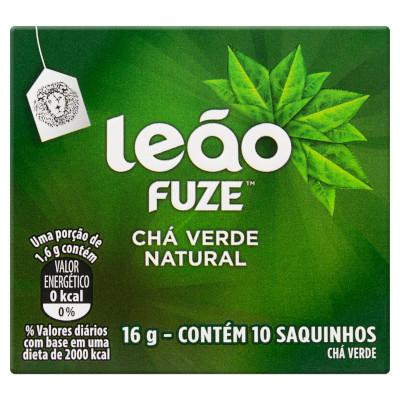 Chá Verde 16g Leão caixa CX