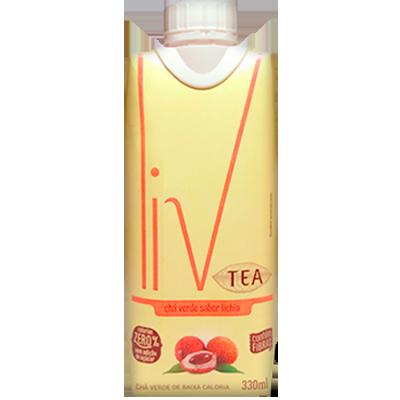 Chá verde com lichia 330ml LIV Tetra Pak UN