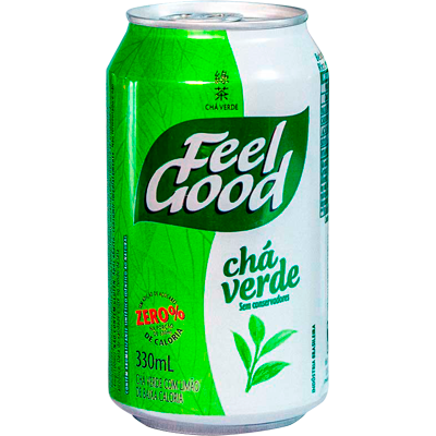Chá verde com limão 330ml Feel Good lata UN