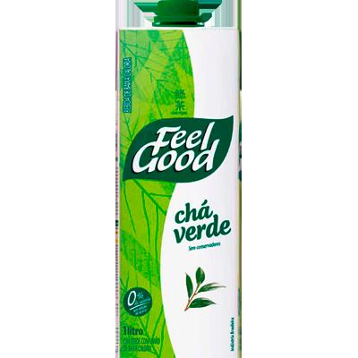 Chá verde com limão 1Litro Feel Good Tetra Pak UN