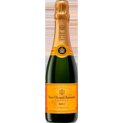 Champagne Brut 375ml Veuve Clicquot garrafa UN