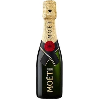 Champagne Brut Imperial 200ml Moet & Chandon garrafa UN