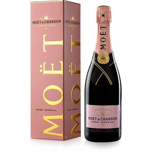 Champagne Brut Rosè 750ml Moet & Chandon garrafa UN