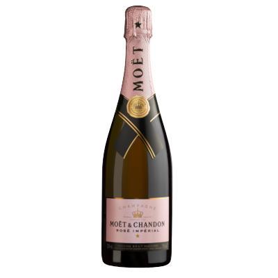 Champagne Rosé Imperial Brut 750ml Moet & Chandon garrafa UN