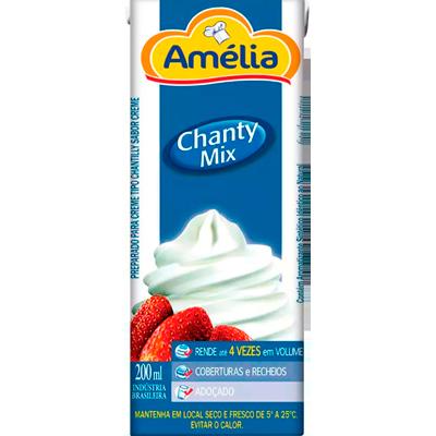 Chantilly Líquido 200ml Amélia Tetra Pak UN