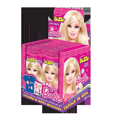 Chiclete  24 unidades Buzzy/Barbie caixa CX