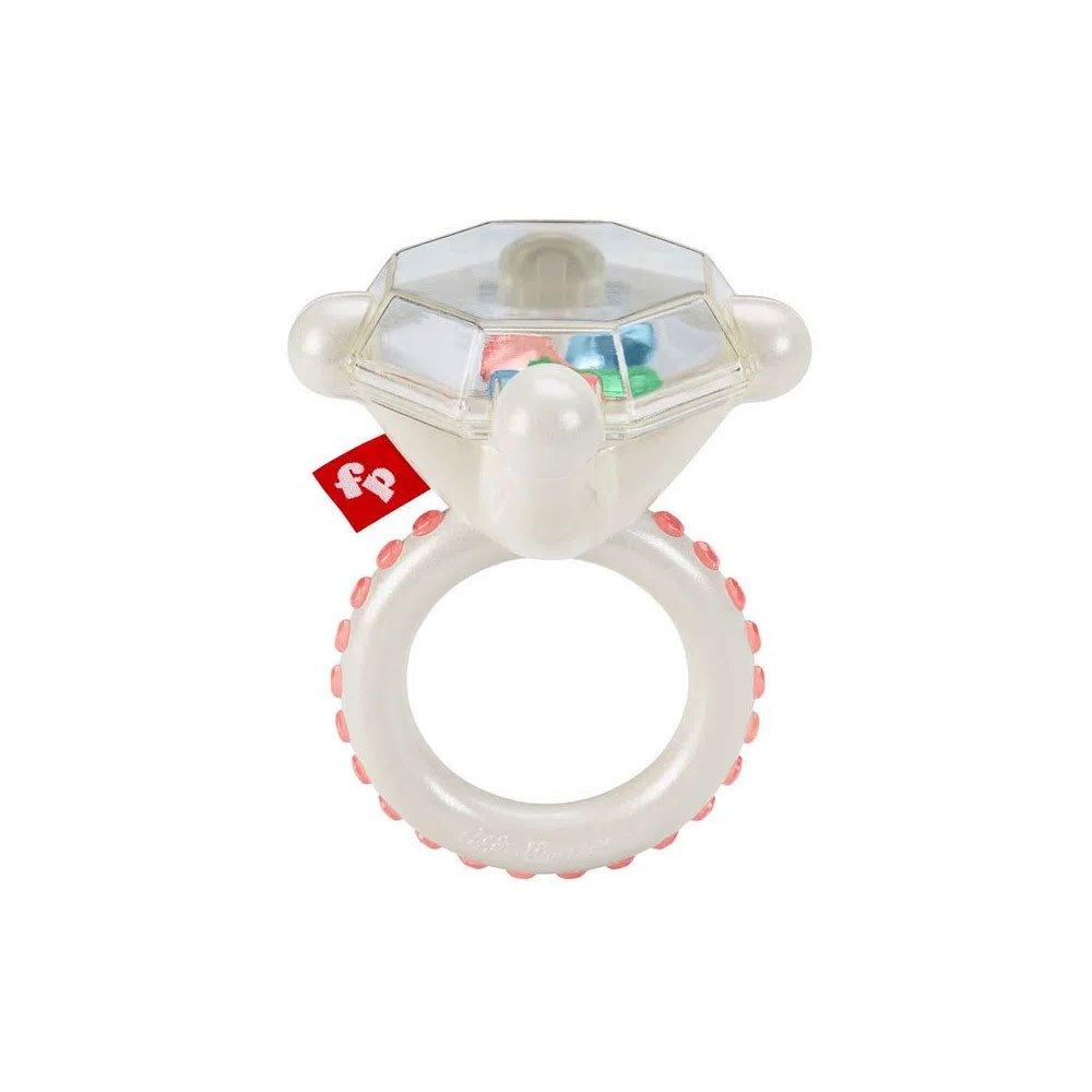Chocalhos e Mordedores para Bebê Chocalho Anel de Diamante Branco unidade Fisher-Price  UN