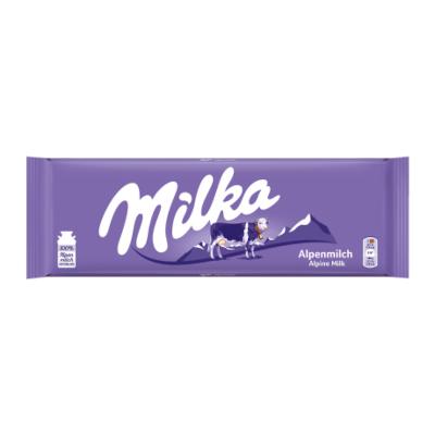 Chocolate Alpine Milk 270g Milka  UN