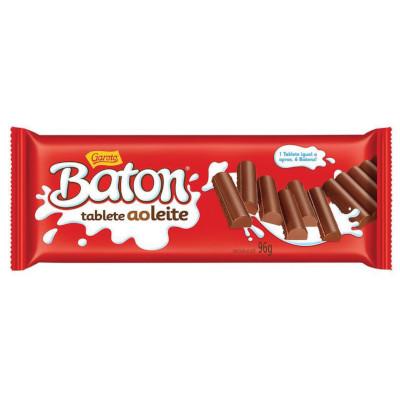 Chocolate ao leite 96g Garoto/Baton  UN