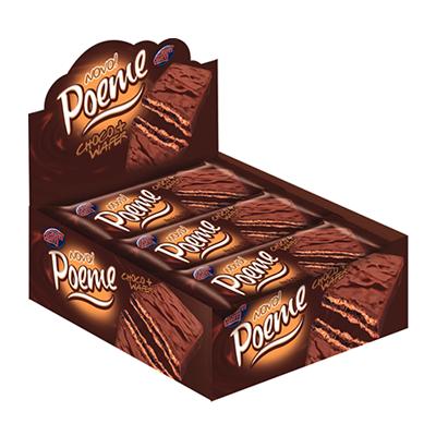 Chocolate ao leite 15 unidades Poeme caixa UN