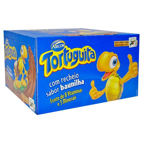 Chocolate ao Leite  24 unidades Arcor/Tortuguita caixa CX
