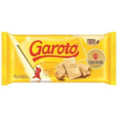 Chocolate branco 90g Garoto/Opereta  UN