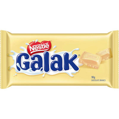 Chocolate branco 90g Nestlé/Galak  UN
