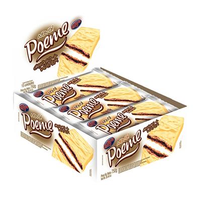 Chocolate branco 15 unidades Poeme caixa UN
