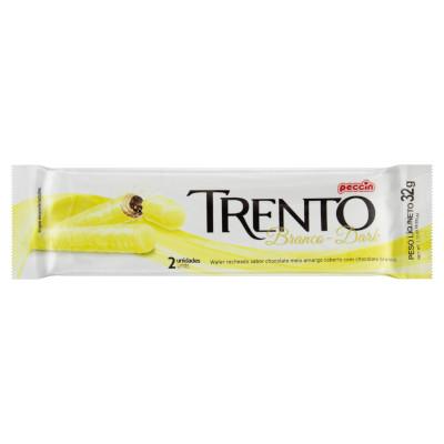 Chocolate branco 16 unidades Trento caixa UN