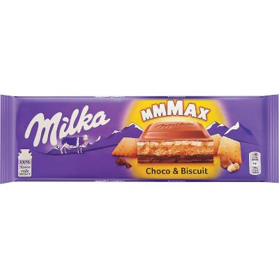 Chocolate Choco & Biscuit 300g Milka  UN