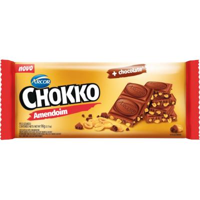 Chocolate chokko amendoim 90g Arcor  UN
