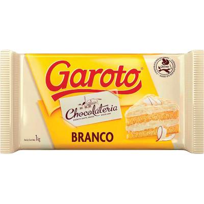 Cobertura de Chocolate Branco 1kg Garoto  UN